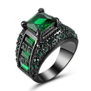 Woman Ring Size 7 Simulated Stones  Rhodium Plated